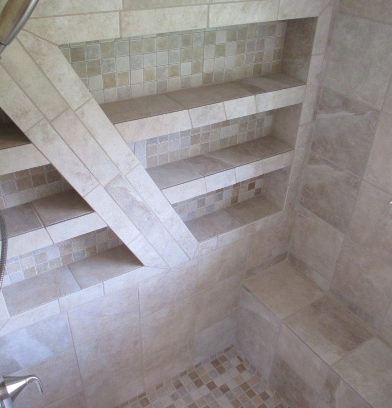 Bathroom Remodel tile work State college beautiful top-grade work satisfied customers build