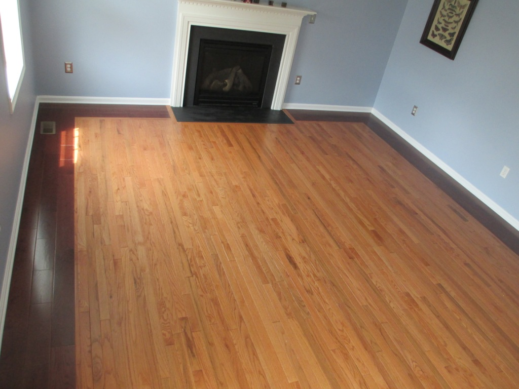hardwood flooring inlay beautiful quality workmanship excellent outcome timely value added border State College